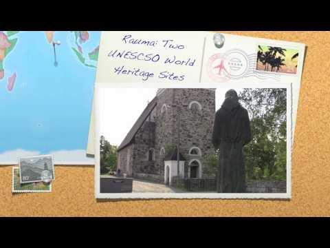 Two UNESCO World Heritage Sites: Rauma, Finland