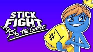 THE STICK FIGHT KING! | Stick Fight: Funny Moments (ft. Gorilla & Dracula)