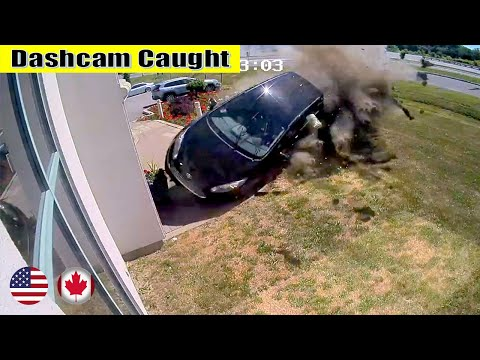 Ultimate North American Cars Driving Fails Compilation - 186 [Dash Cam Caught Video]