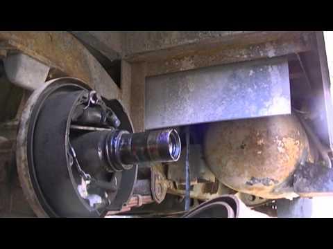 Grampa's Garage #118 Pt I RV axle and bearing service
