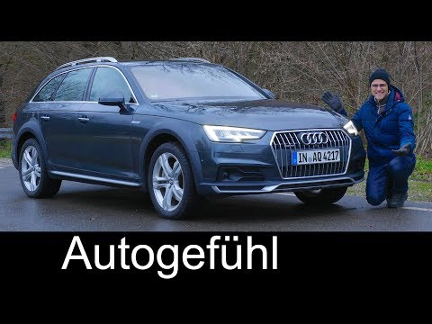 The perfect Crossover? Audi A4 Allroad quattro FULL REVIEW 2018 A4 Avant - Autogefühl
