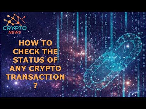 How To Check Crypto Transaction Status ?