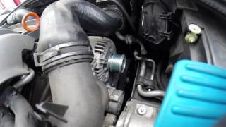 remplacement poulie débrayable alternateur Valeo Audi A3 140 2007