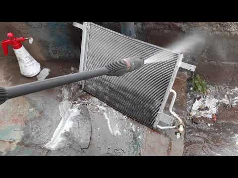 How to cleaning AC condenser or radiator