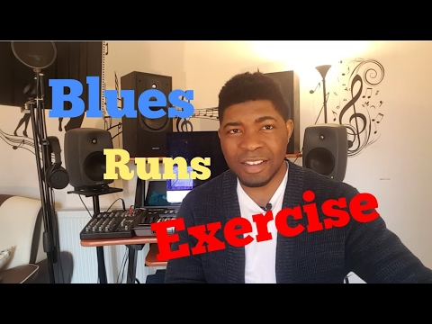 Daily practice: BLUES RUNS EXERCISE Pt. 2 | Gym For Your Vocals And Ears