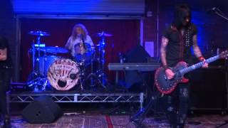 "STEVEN ADLER ""ADLER BAND"" PERFORMS NIGHT TRAIN AT LUCKY STRIKE LIVE HOLLYWOOD 10/7/2015"