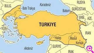 Новая карта Турции в программах для высших военных офицеров НАТО.