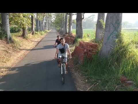 DJI spark CAN DO IT DJI spark active track, profile mode, quickshot Mountain bike drone