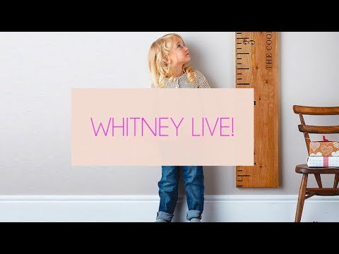 Milestones!!! Whitney Port & husband discuss how they feel about developmental milestones. LIVE!