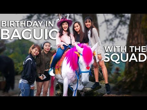 VLOG #8 | MY 18TH BIRTHDAY IN BAGUIO CITY!