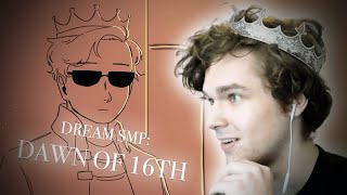 "Eret REACTS to ""Dawn of 16th"" Dream SMP Animatic by SAD-ist!!!"