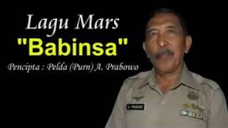 Lagu Mars Babinsa Klip Asli oleh Pelda (Purn) A. Prabowo