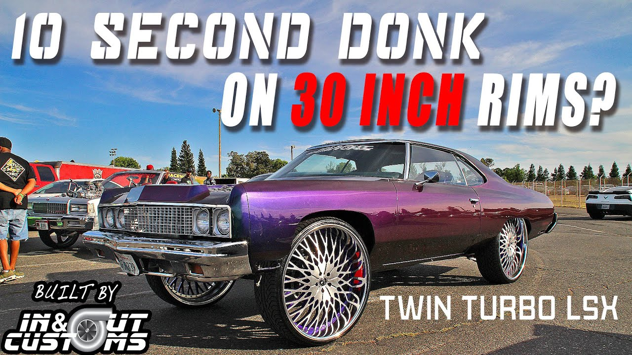 BEFORE & AFTER: DONKMASTER Builds the FASTEST DONK ON 30s! New Twin Turbo LSX