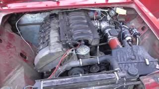 ОбзорТестДрайв 2-Серия ВАЗ 2106 Дрифт-Корч с двигателем BMW M50B25 2,5л 192л.с.