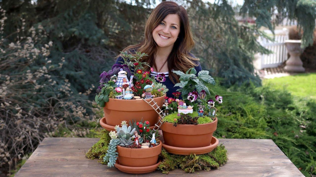 Alice In Wonderland Fairy Garden Full Version Garden Answer Youtube