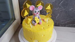 Торт мышонок на сыре Торт Сникерс Как сделать чтоб Безе в торте не размокало