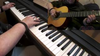 Happy New Year - ABBA for Piano & Guitar - Played by Wen Van Dorpe