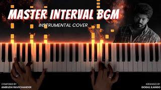 Master Interval BGM Instrumental Cover | Thalapathy Vijay | Anirudh Ravichander | Gogul Ilango