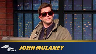 John Mulaney Asks Seth Meyers Some Hard-Hitting Questions