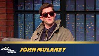 John Mulaney Asks Seth Meyers Some HardHitting Questions