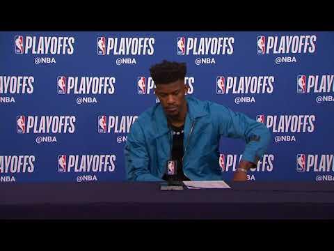 Jimmy Butler Postgame Press Conference | Rockets vs Timberwolves - Game 3 | 2018 NBA Playoffs