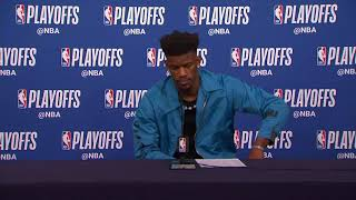 Jimmy Butler Postgame Press Conference | Rockets vs Timberwolves - Game 3 | 2018 NBA Playoffs