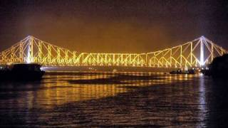 Glimpse Of Howrah Bridge in Kolkata (Calcutta) West Bengal