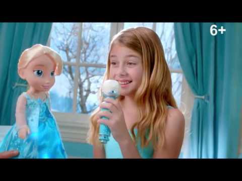 Кукла Эльза в детстве Дисней 40 см - купить куклу Эльзу - YouTube