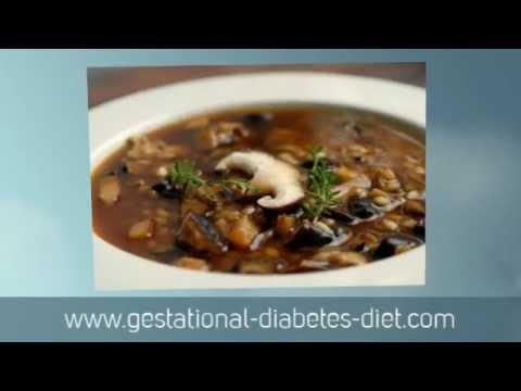 Mushroom Soup - gestational diabetes recipe