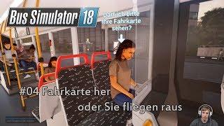 Bus Simulator 18 #04 // Fahrkaaarten Biddö