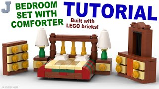Tutorial - Lego Bedroom Set With Comforter