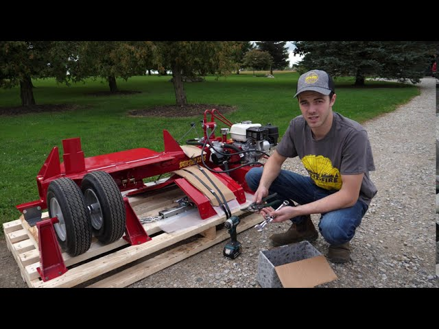 2265 Log Splitter How To - Assembly
