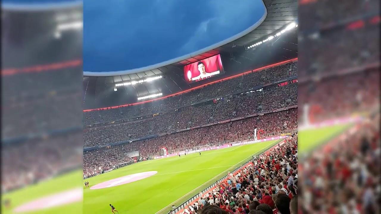 Aufstellung FC Bayern vs. Leverkusen 2017/18 - YouTube