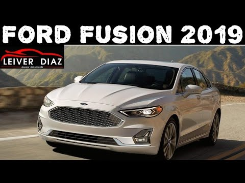 Ford Fusion Titanium 2019 Youtube