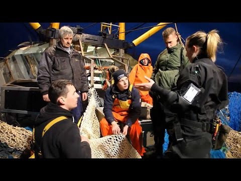 Meet The Royal Navy's Fishery Protection Squadron