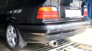 Bmw E36 318i modified Exhaust sound