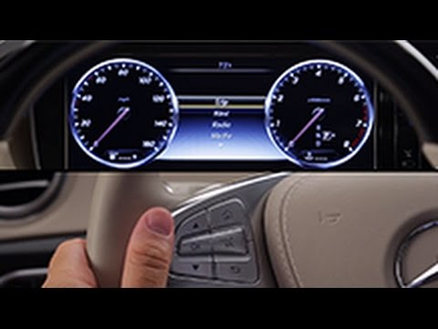 How To: Head Up Display -- Mercedes-Benz USA Owners Support