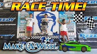 RC CAR DEMOLITION!!! Make-A-Wish for Caden at OC RC RACEWAY!