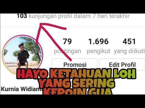 Cara Melihat Kunjungan Instagram Youtube