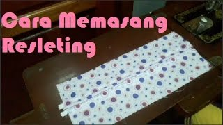 Cara Memasang Resleting - How To Install Zipper 2016