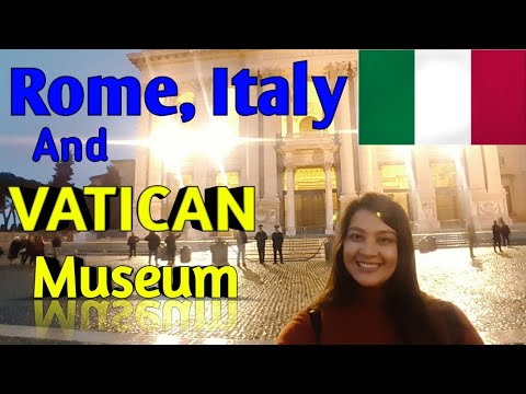 TRAVEL VLOG: ROMA ITALIA | Vatican City | EUROPE TOUR