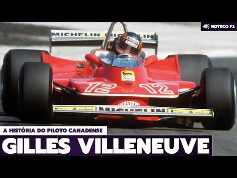 A História de GILLES VILLENEUVE (BOTECO F1 HISTÓRIA #19)
