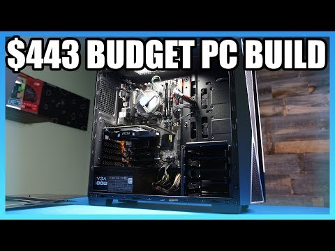 Budget Gaming PC Build Under $500 w/ Intel G4560