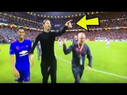 ►zlatan ibrahimovic reaction after europa league final win vs ajax | funny soccer vines