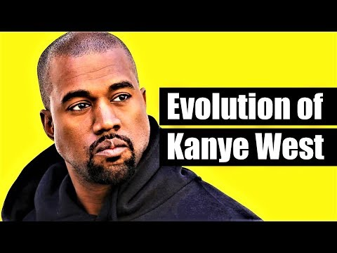 The Evolution Of Kanye West 1996  2018