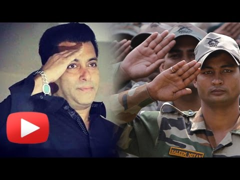 Salman Khan EMOTIONAL Message To Indian Army Soldiers On Diwali 2016