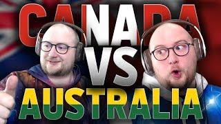 Team Canada vs Team Australia World Cup Showmatch