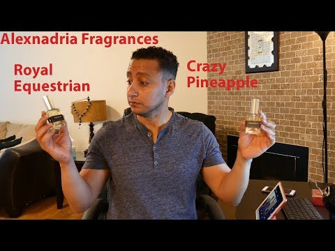 Alexandria Fragrances (Royal Equestrian, Crazy Pineapple. In Arabic)