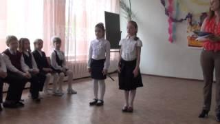 Урок музыки 22.05.2014, 1А класс, 115 гимназия, г.Омск, часть 2