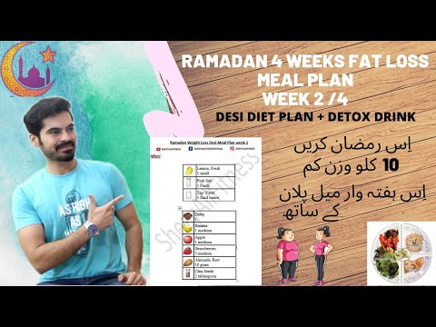 Week 2 |Desi Fat Loss Diet Plan |Ramadan |Loose up to 10 kg |Week 2/4 |2020